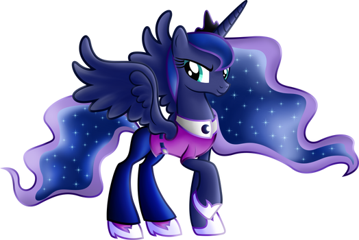 Princess Luna Equestria Girls casual clothes.