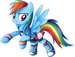 Rainbow Dash Equestria Girls  casual clothes.