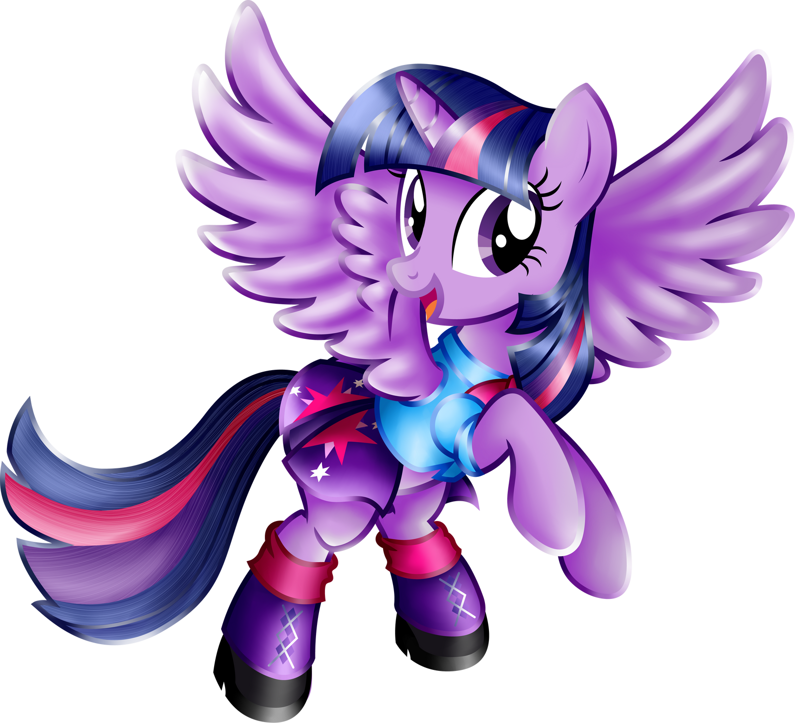 Twilight Sparkle Equestria Girls Casual Clothes. By