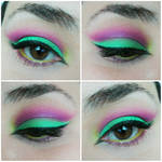 Fel and Void / Eye makeup by SaraySego