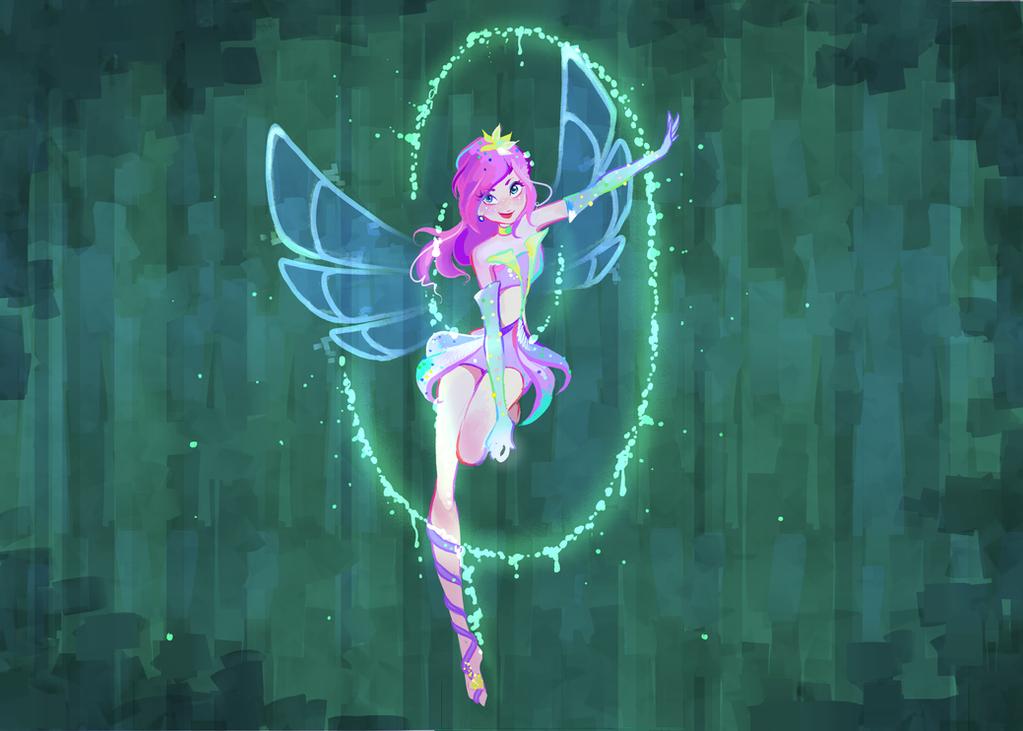 Tecna enchantix 02 by AxelStardust