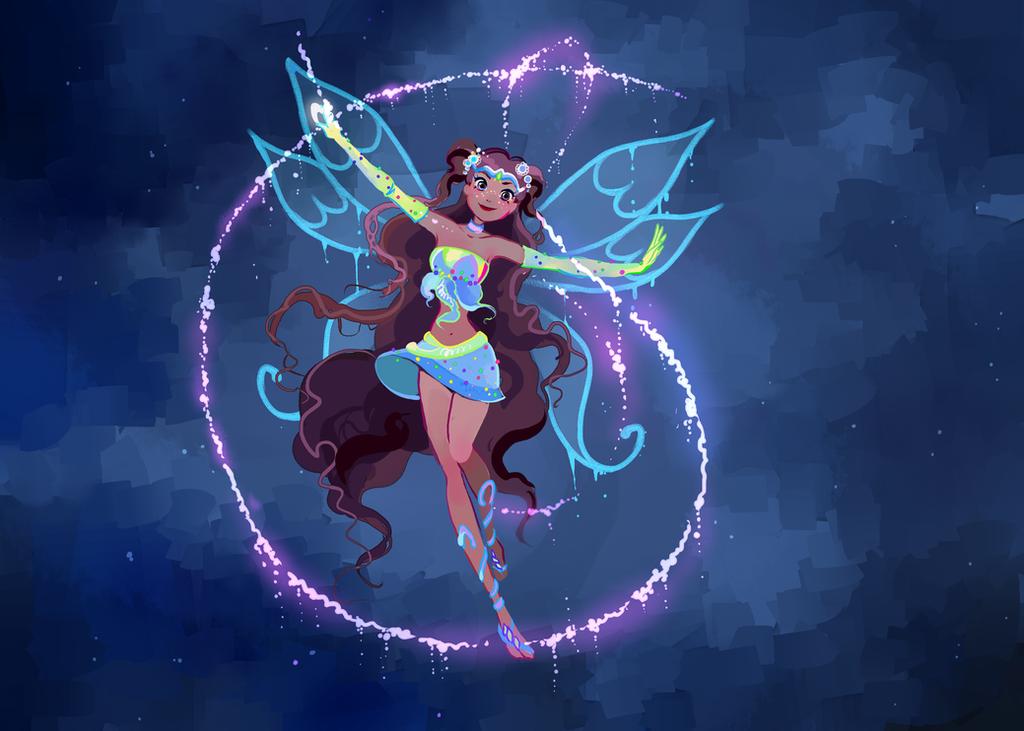 Aisha enchantix 02 by AxelStardust