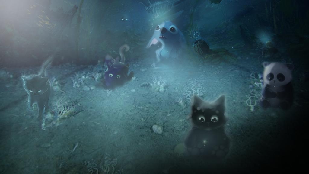 Desktop Background   Cartoon Sea Floor By CommStudios ...