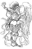 tatoo angel2 by GRAPEBRAIN