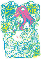 Mermaid_Tshirt by GRAPEBRAIN