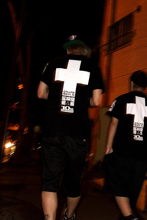 GRAPE BRAIN 10th anniversary! T_shirt_13 by GRAPEBRAIN