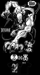 DEVIL MAN by GRAPEBRAIN