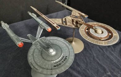 Discovery  and Enterprise