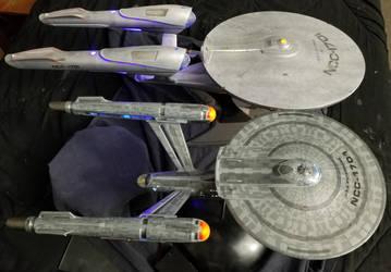 USS Enterprise-Discovery-JJ-Comparison