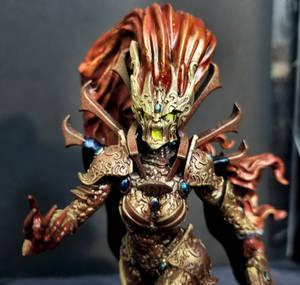 Female Avatar closeup