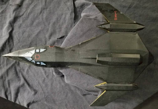 Goldwing One-1-144 scale-top view