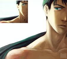 Screenshot redraw : Yamazaki Sousuke by Mavoly