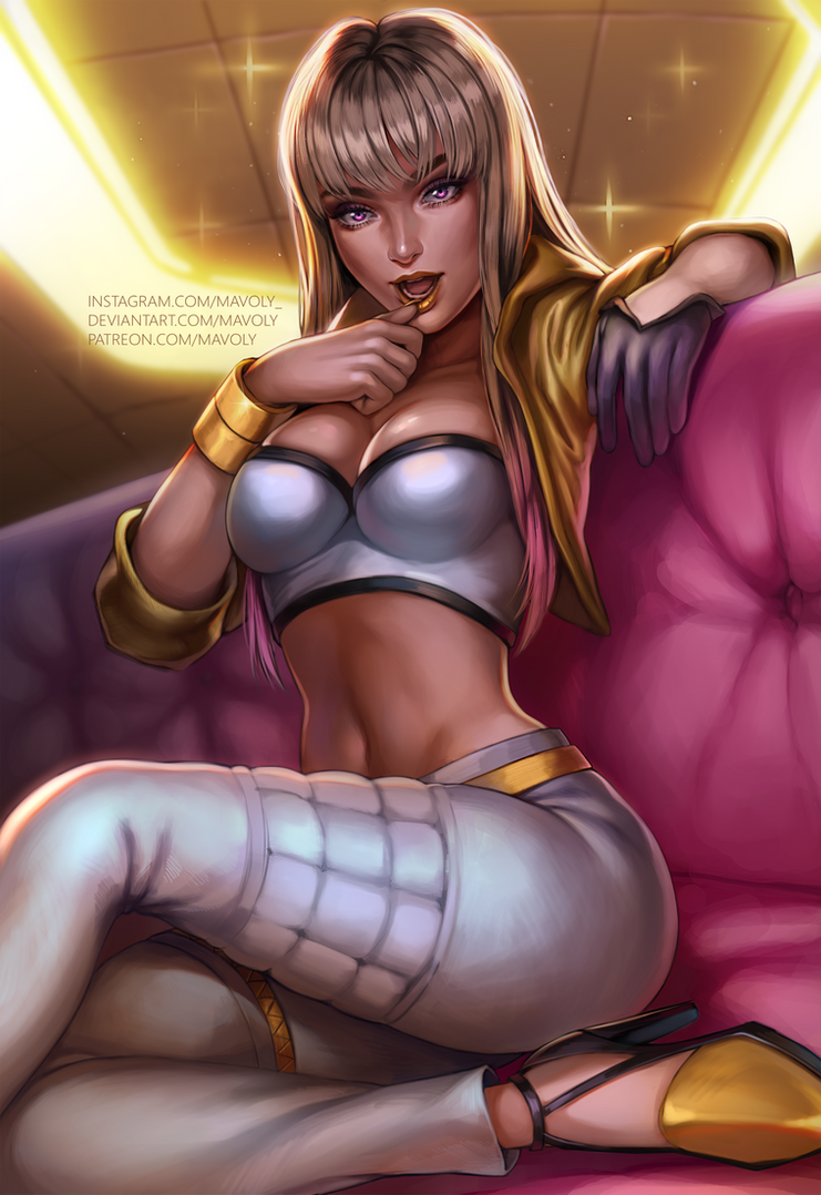 League of Legends - Prestige K/DA Kai'Sa by Mavoly