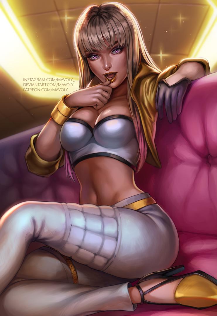 League of Legends - Prestige K/DA Kai'Sa by Mavoly