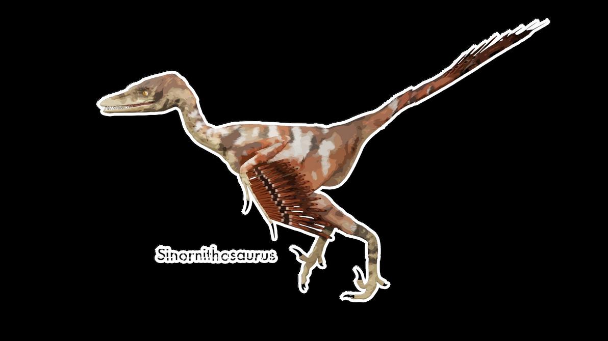 Sinornithosaurus by Benjee10