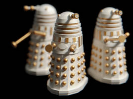 Imperial Daleks - 3D Prints Available by Benjee10