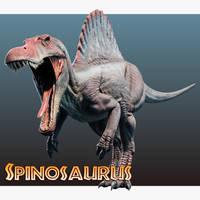 Jurassic Park /// Spinosaurus by Benjee10