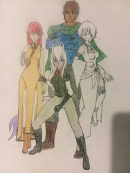 DnD Group 1 (color wip) by ZannyZalonder