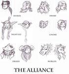 Sketch- WoW Alliance