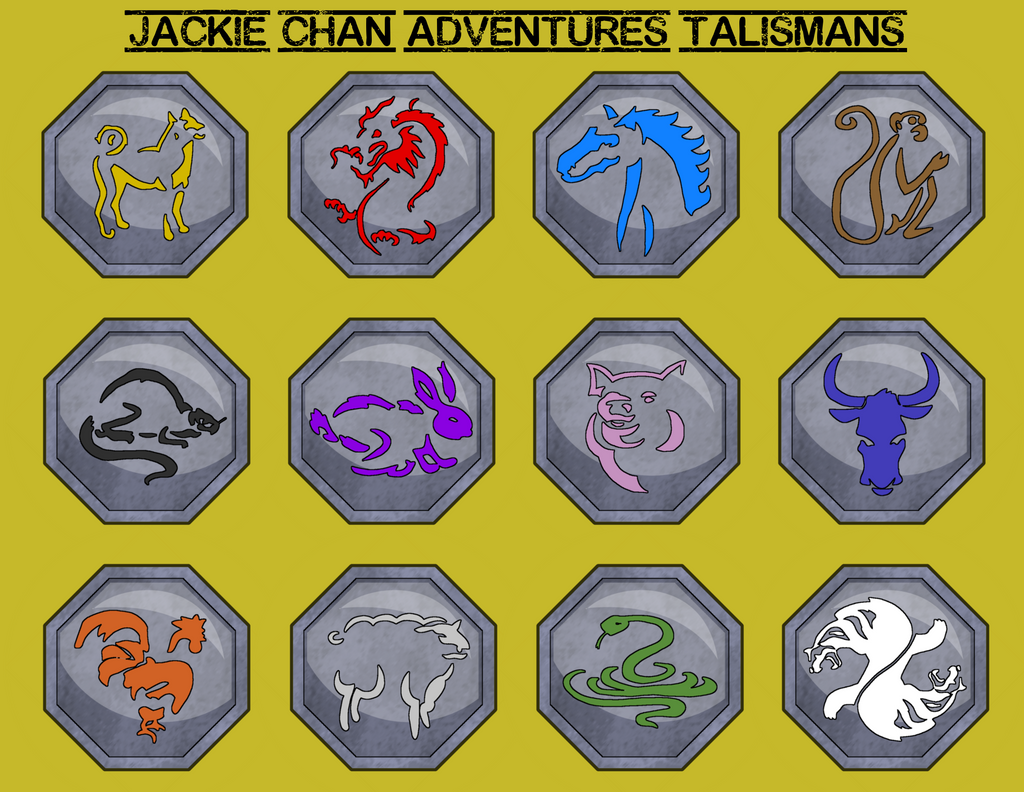 Jackie Chan Adventures- Talismans By Leo-alostcause On