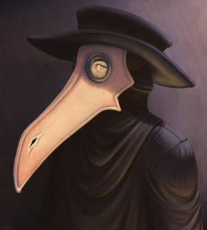 Plague Doctor Final Portrait
