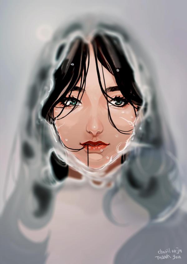 Commission: Mermaid Katy by Ar-Ju