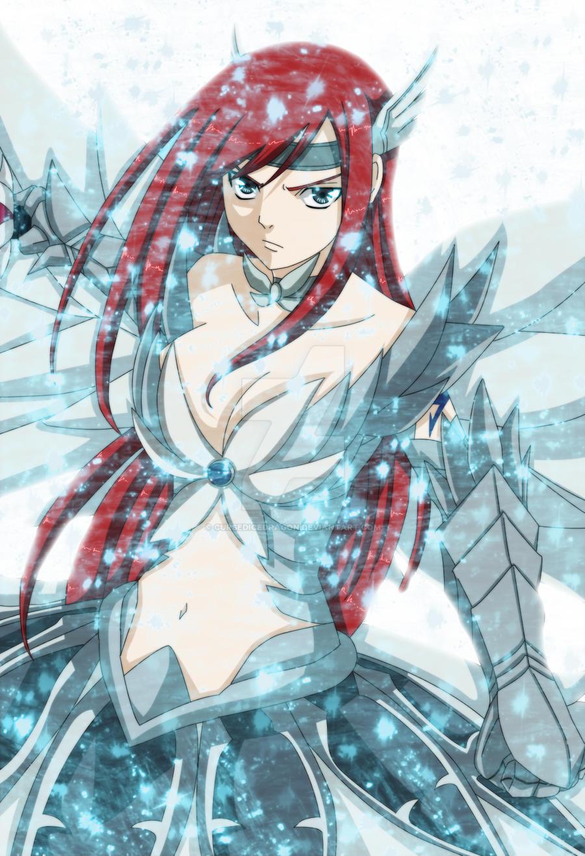 CursedIceDragon 108 5 Erza Scarlet Angel Armor By