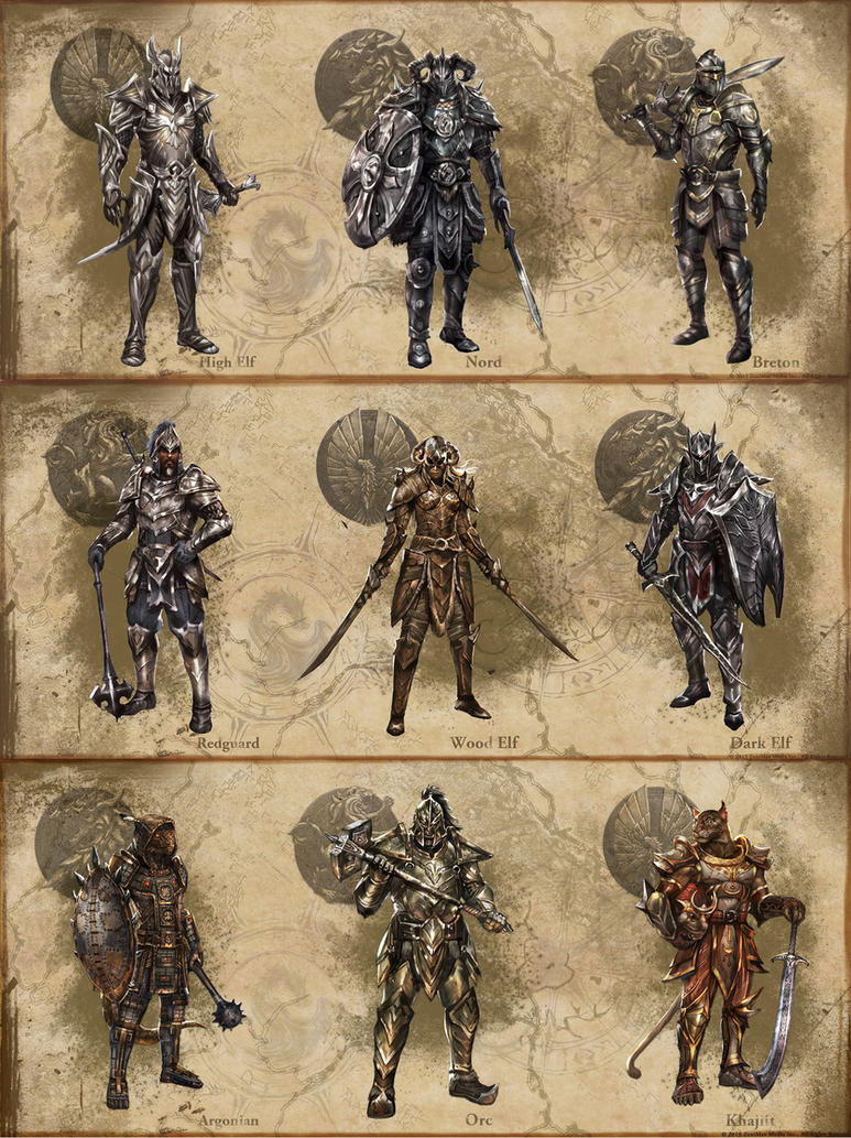 ESO Armor concepts by SenorDisasterMaster