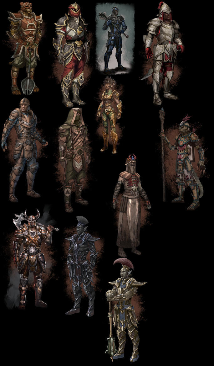 Eso tamriel map armor concepts by senordisastermaster on deviantart