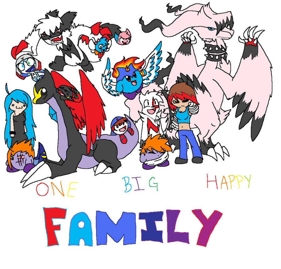 one big happy family Ok, so i know i have written about this several times before but apparently some  people still haven't gotten the message so, one more time for.