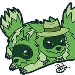 HTF/Pokemon Crossover - Shifty and Lifty