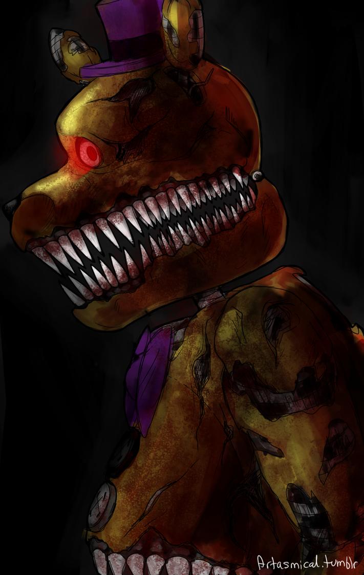 Nightmare Fredbear by Patcha105
