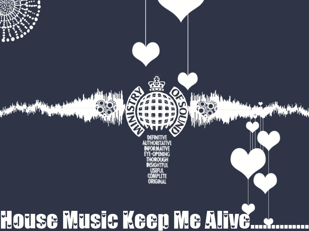 House music keep me alive by samoan on deviantart for House music art