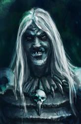 Necro Portrait by AtreyoS