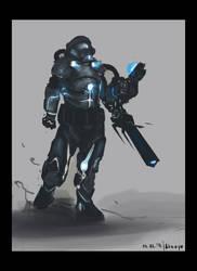 tech-man by AtreyoS