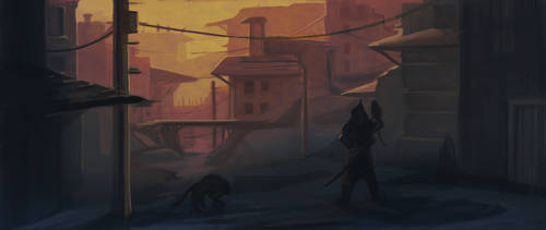 Alley 04 by AtreyoS