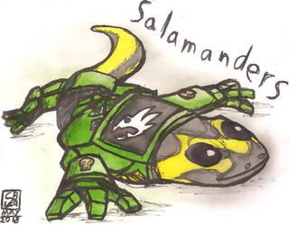40K Salamanders Salamander by CB129