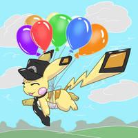 Sky High Pikachu