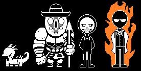 SCPTale Sprites 2 by MegaloCook