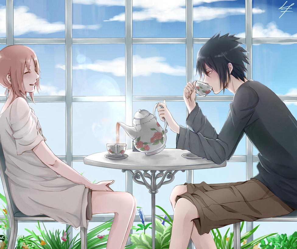 SasuSaku: Secangkir teh hangat untukmu by Ellinot