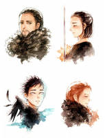 Game of Thrones: A Time For Wolves by Ellinot