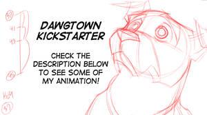 Dawgtown Kickstarter animation by basakward