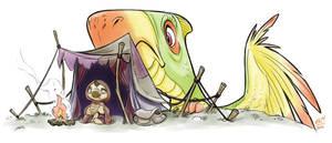 Squig the Dragon-tamer 05