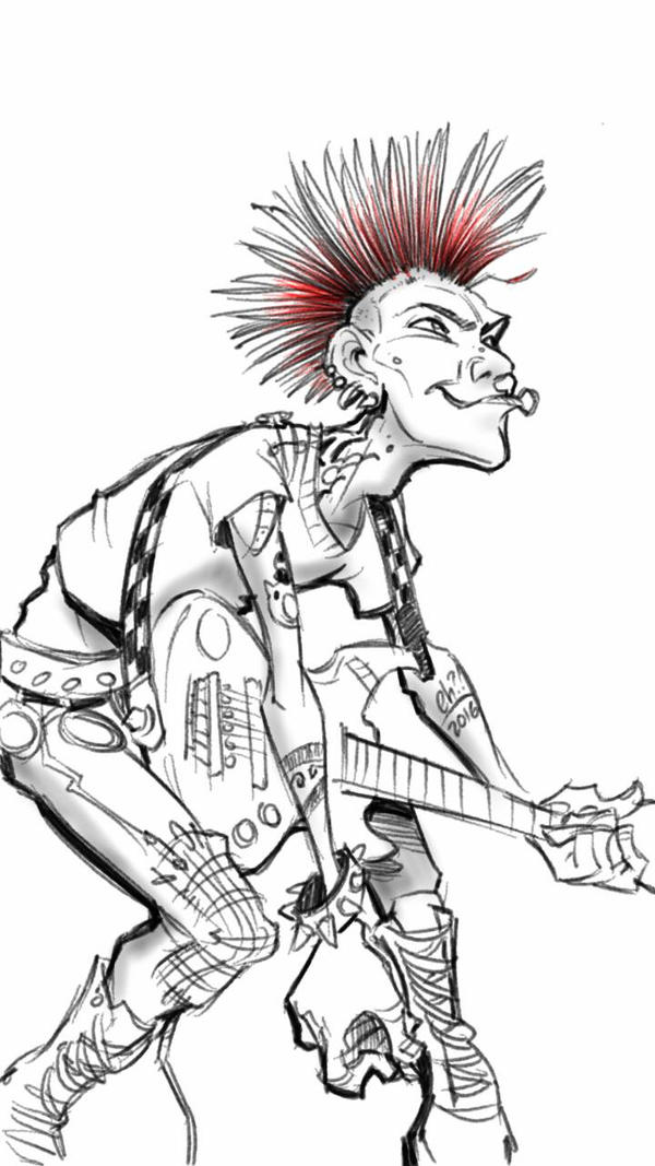 Punk By Basakward On Deviantart