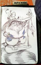 Wizard Cat by basakward