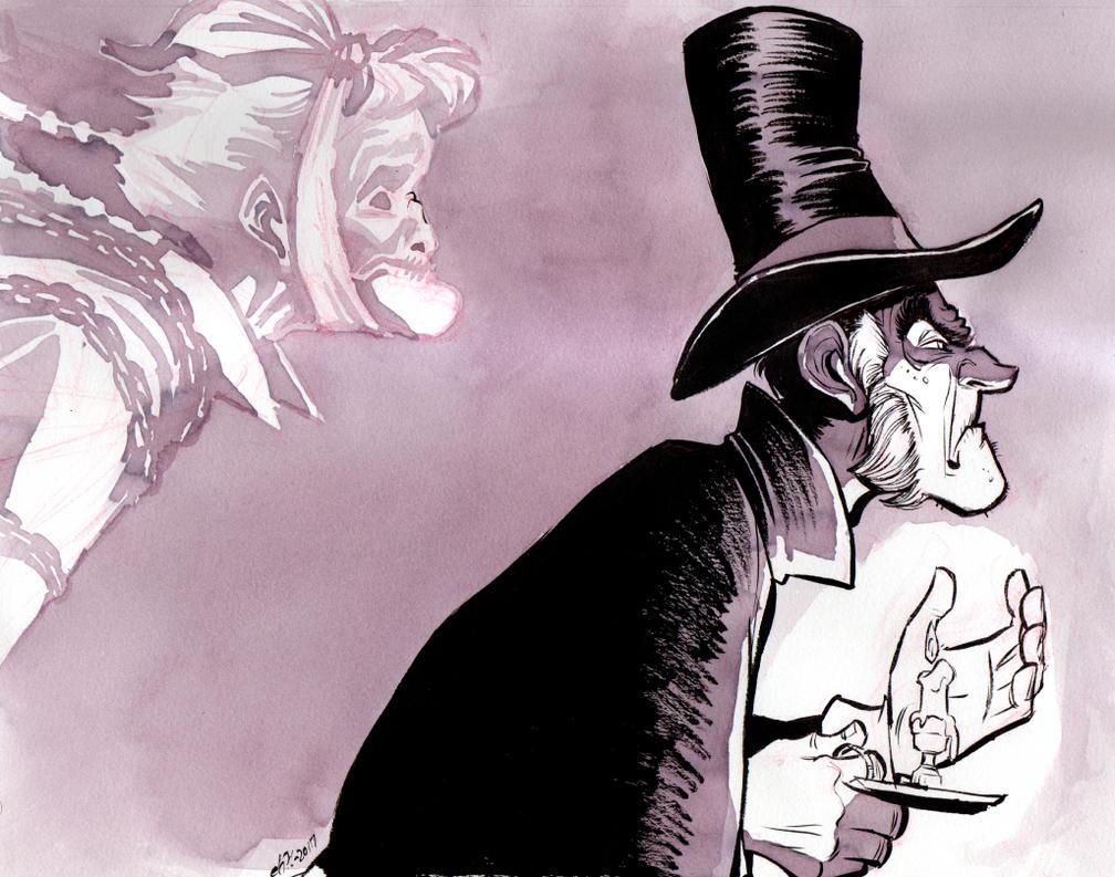Scrooge and Marley by basakward