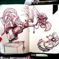 Robo-Dragon by basakward