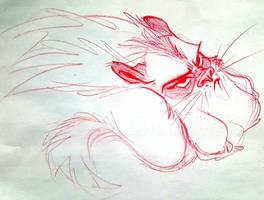 Grumpy Critter by basakward