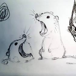 ScreamCritters by basakward