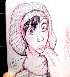 Cold Woman by basakward